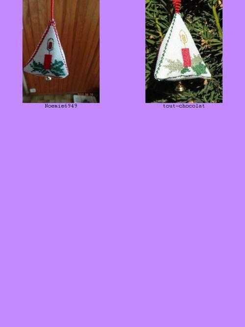 SAL &quot&#x3B;Les pendouilles de Noel&quot&#x3B; - AVRIL 2013- les photos (1)