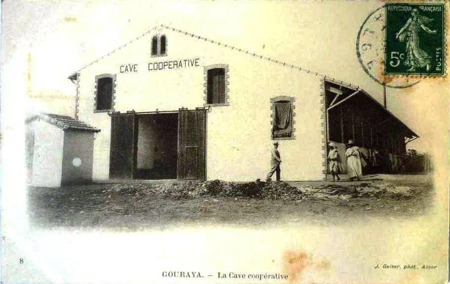 Cave coopérative de Gouraya, créée en 1907.