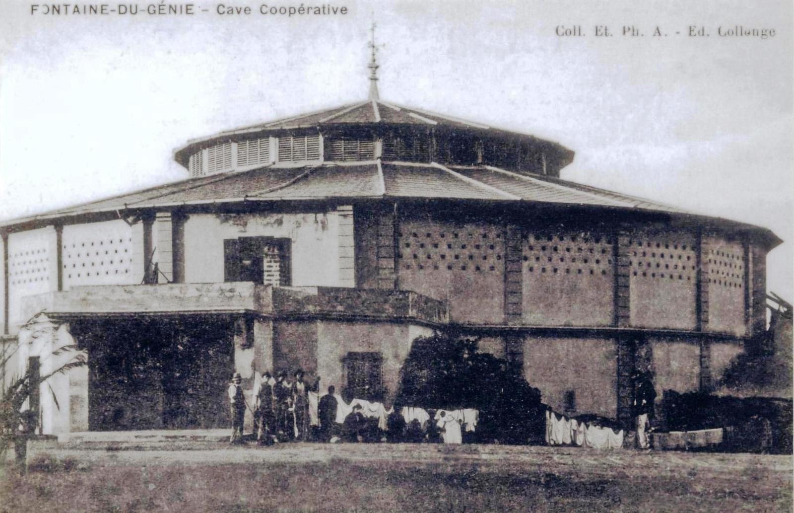 Cave coopérative de Fontaine-du-Génie (Hadjeret Ennous).