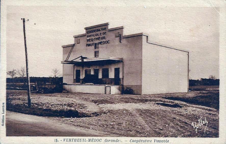 VERTHEUIL (Gironde) : La Société Coopérative de Vinification.