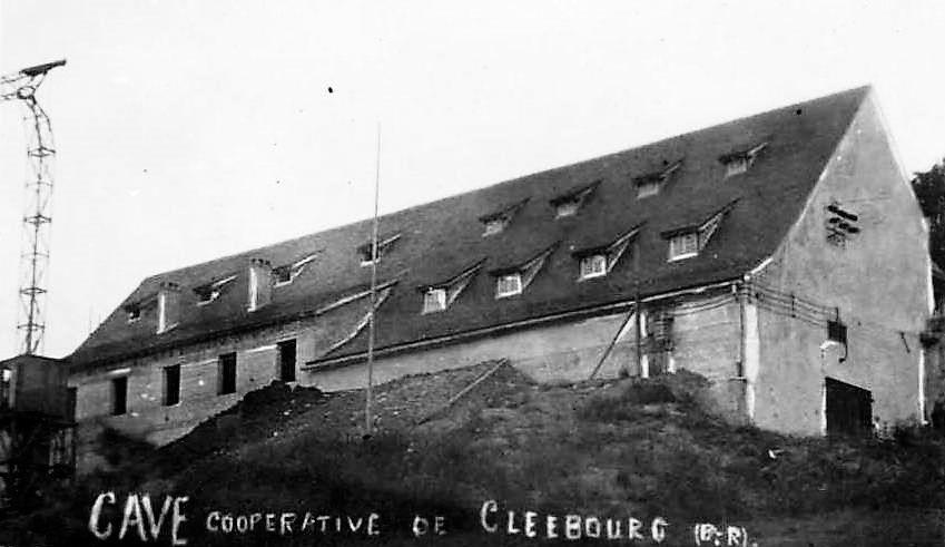 Cave coopérative de Cleebourg.