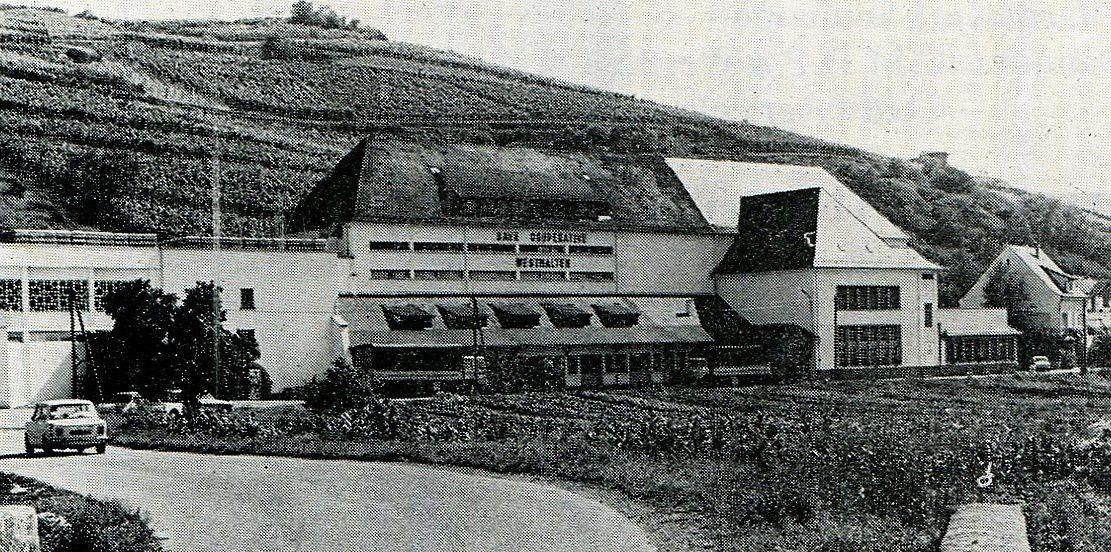 Cave coopérative de Westhalten.