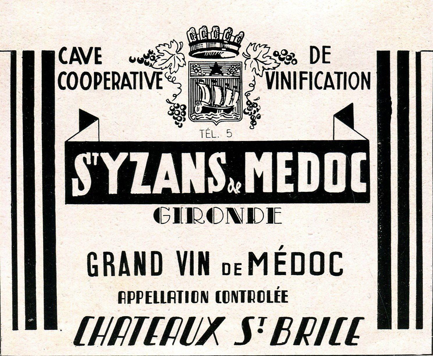 SAINT-YZANS-DE-MEDOC (Gironde) : La Cave Coopérative.