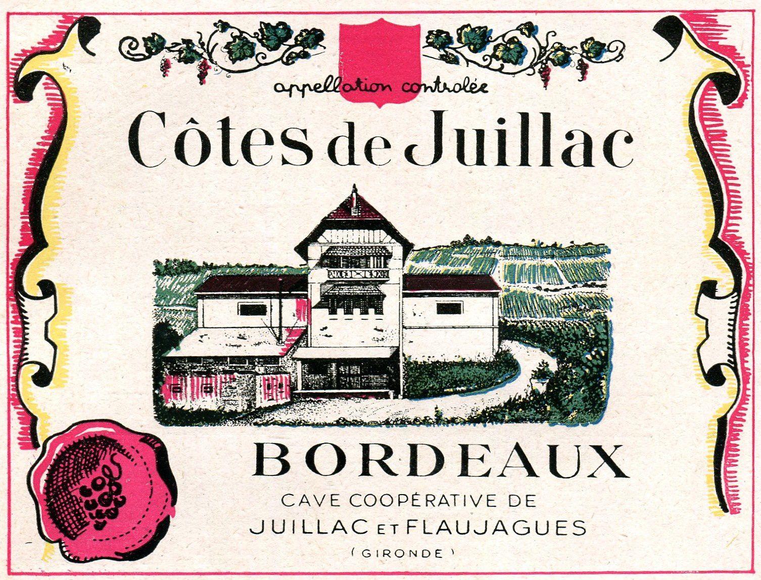 FLAUJAGUES (Gironde) : La cave coopérative vinicole de Juillac et Flaujagues.