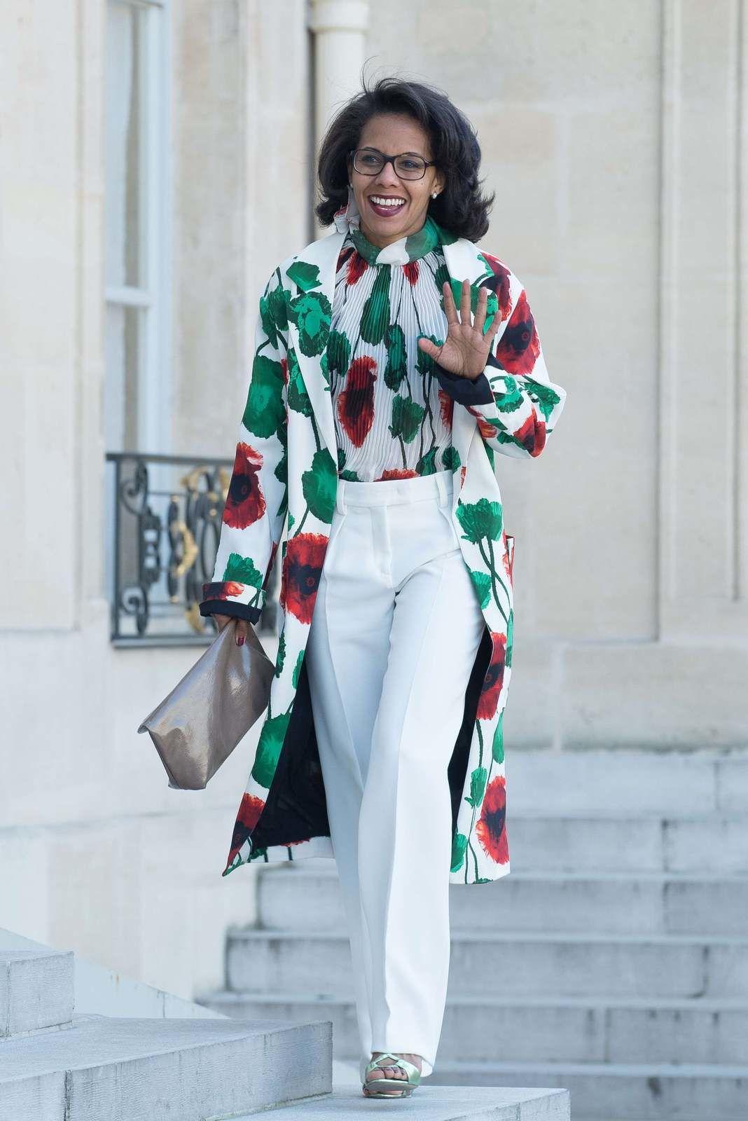 Audrey Pulvar - VILLARD/SIPA - On ne peut pas dire que sa tenue tout en couleur manque de peps. Avec ses origines issues des ils caraïbe, Audrey ose et ça lui va à la perfection, le must.