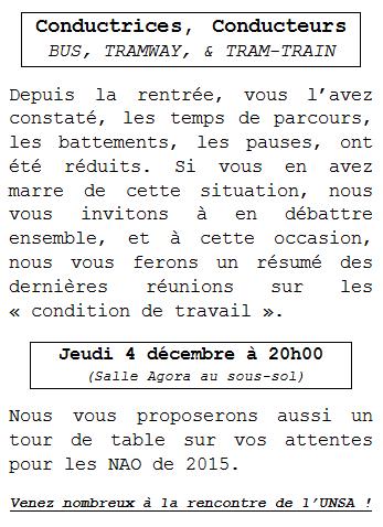 Invitation - Jeudi 4 décembre 2014
