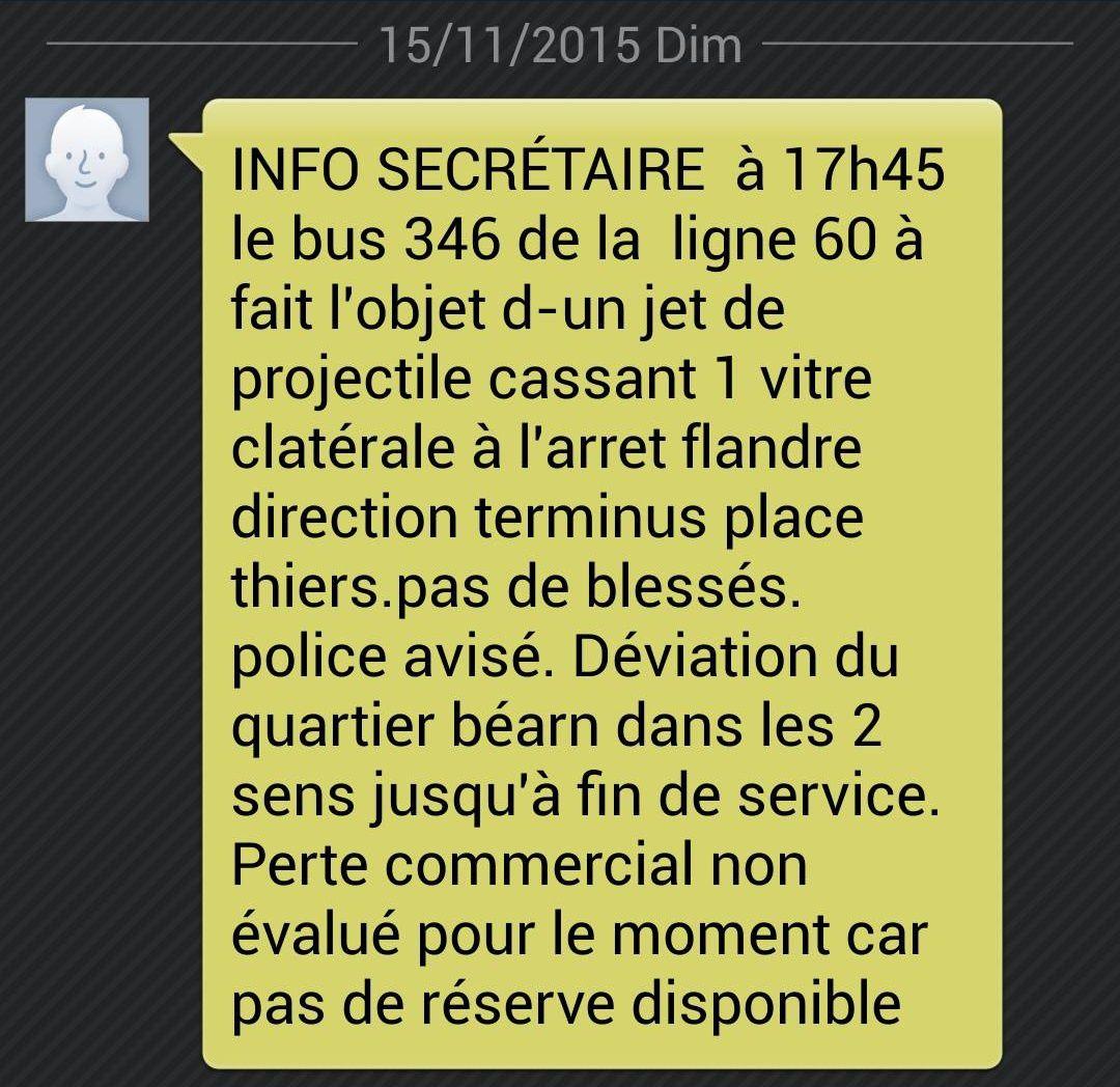 Incident L60 - Dimanche 15 Novembre 2015 - MàJ - Photos