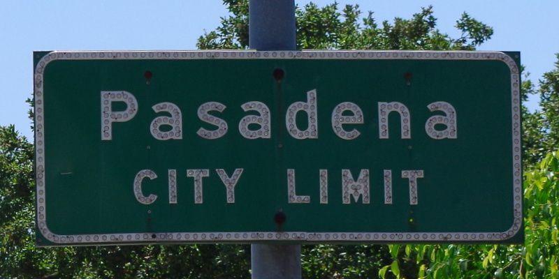 Bye Bye Pasadena