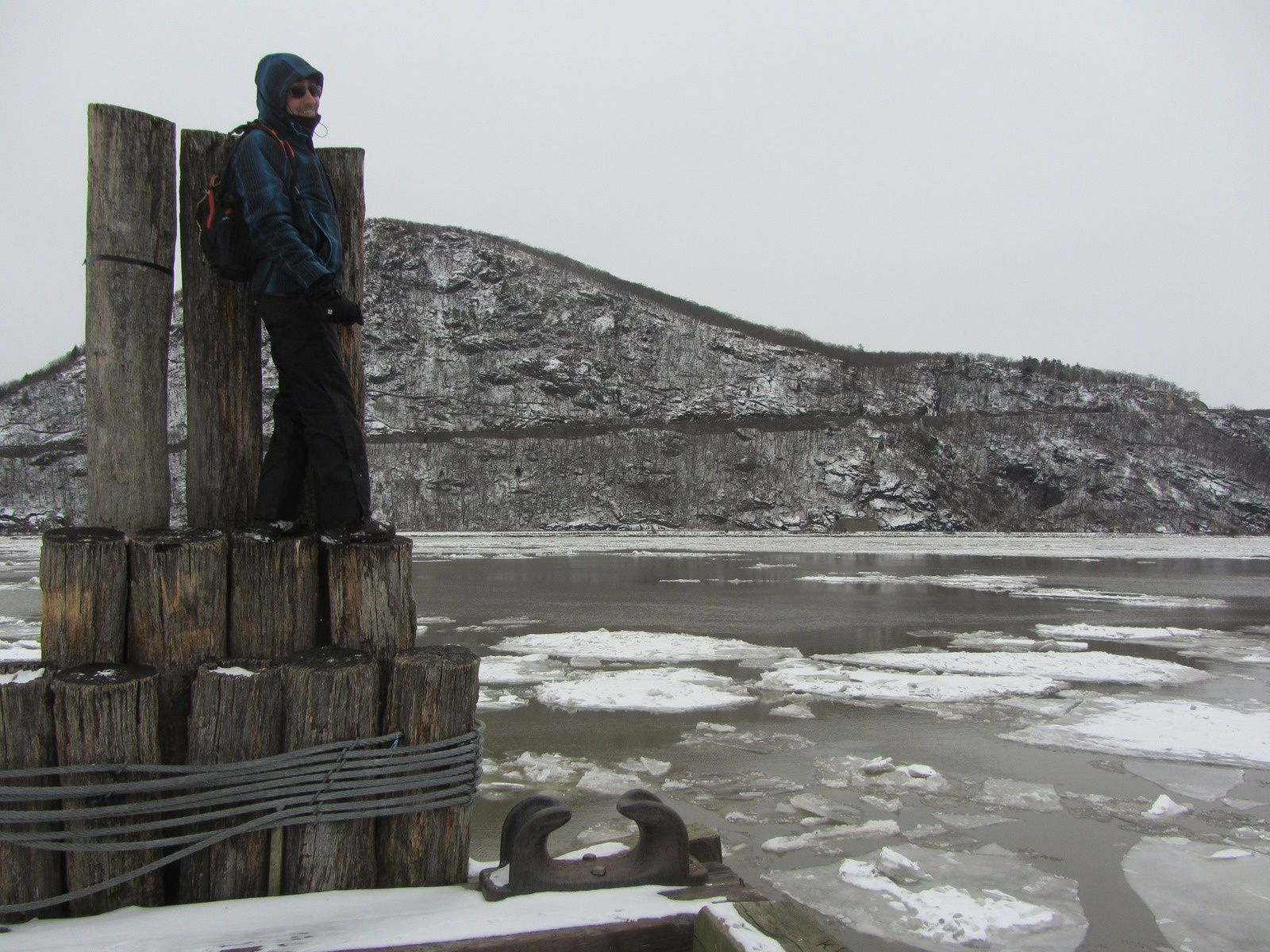 Arctic Weather at Bear Mountain State Park