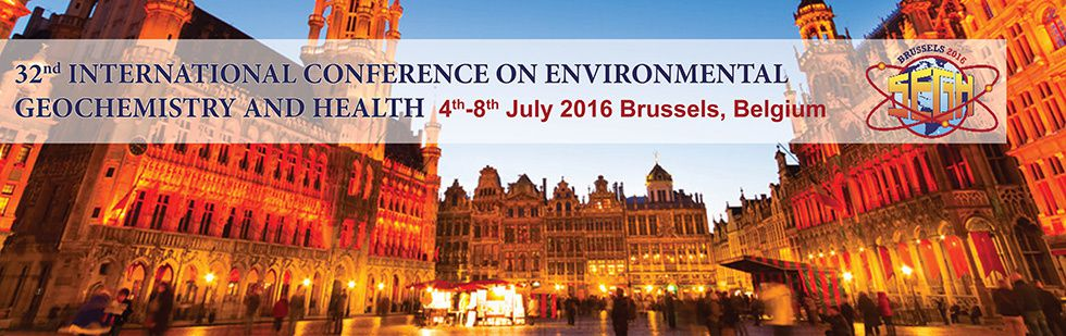 32nd International Conference on Environmental Geochemistry and Health