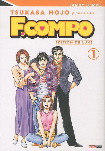 Family Compo - 12 volumes édition Deluxe - Editions Panini Manga