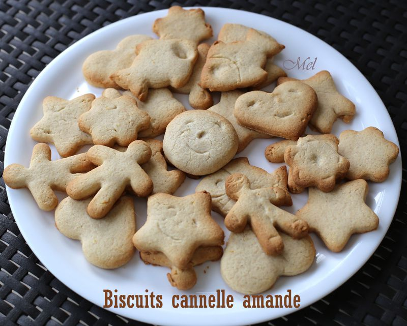 Biscuits Cannelle Amande
