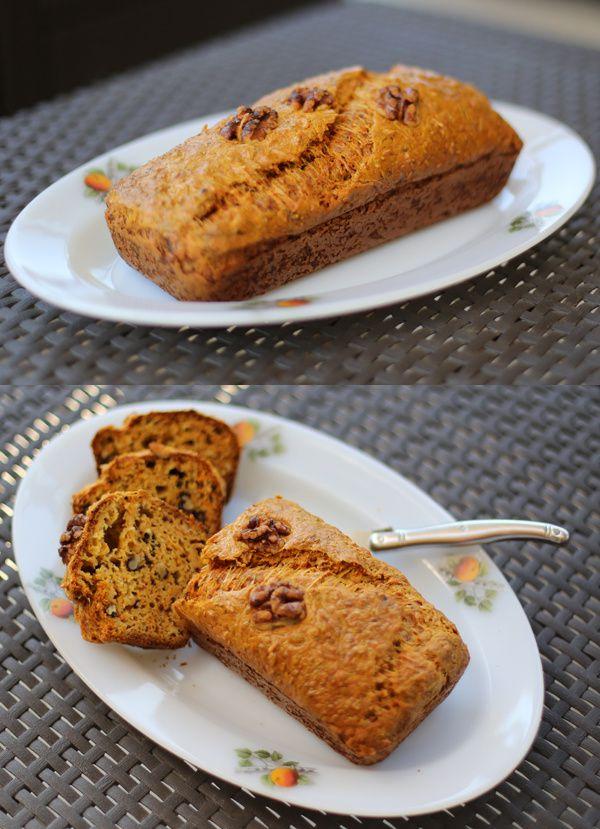 Cake carottes et noix