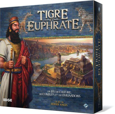Tigre et Euphrate de Reiner Knizia - Edition 2015 par Edge Fantasy Flight Games