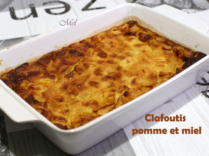 Clafoutis pomme et miel