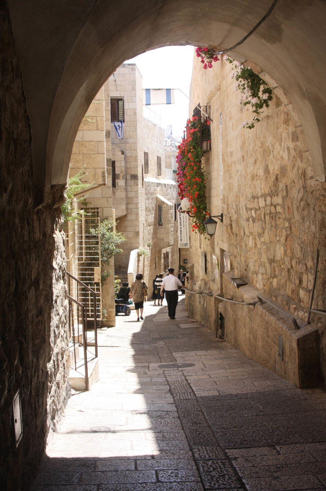 Dans les ruelles de Jérusalem