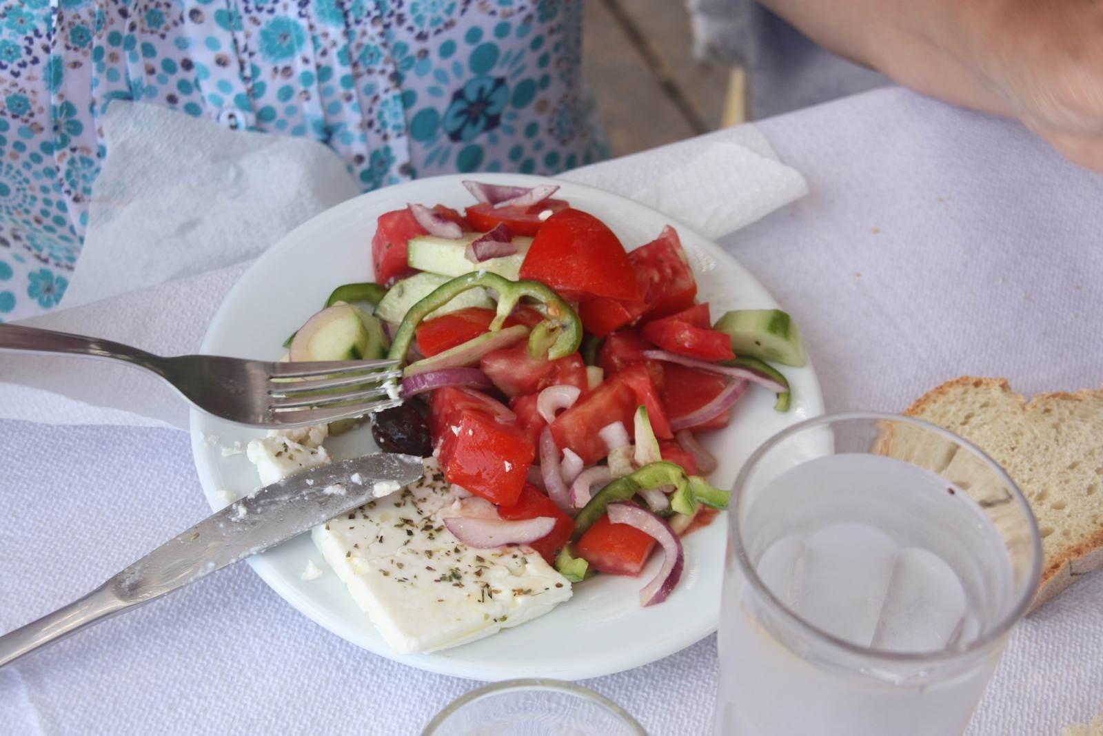 Retour en Grèce