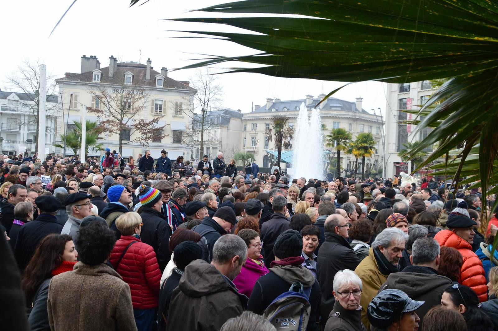 Rassemblement à Pau
