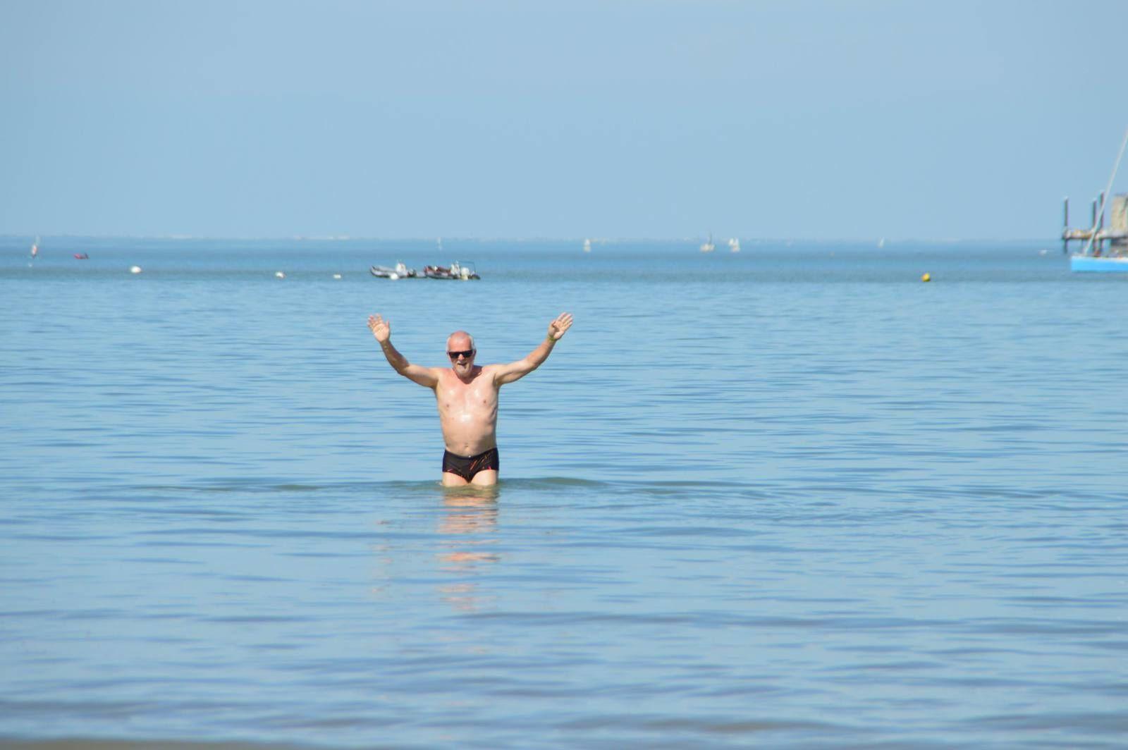 Oléron (4) Premier bain de l'année