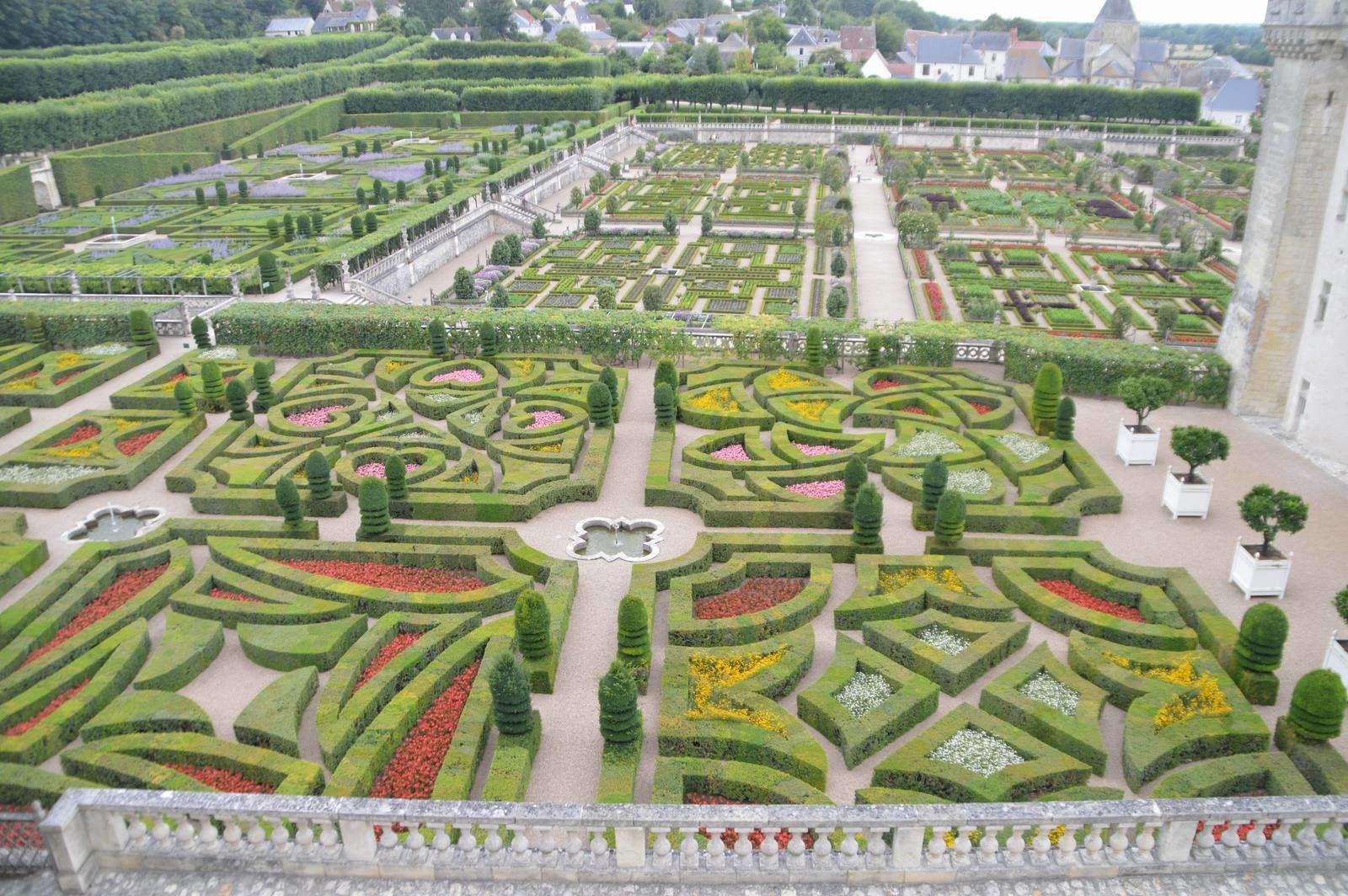 Les châteaux de la Loire (6) Villandry