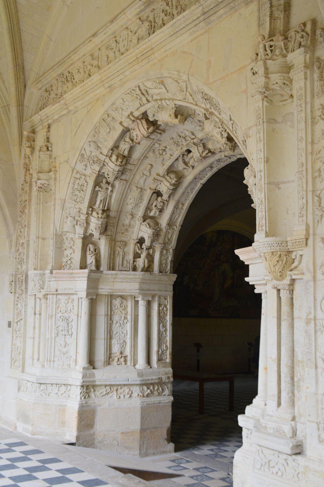 Les châteaux de la Loire (11) L'abbaye de Fontevrault