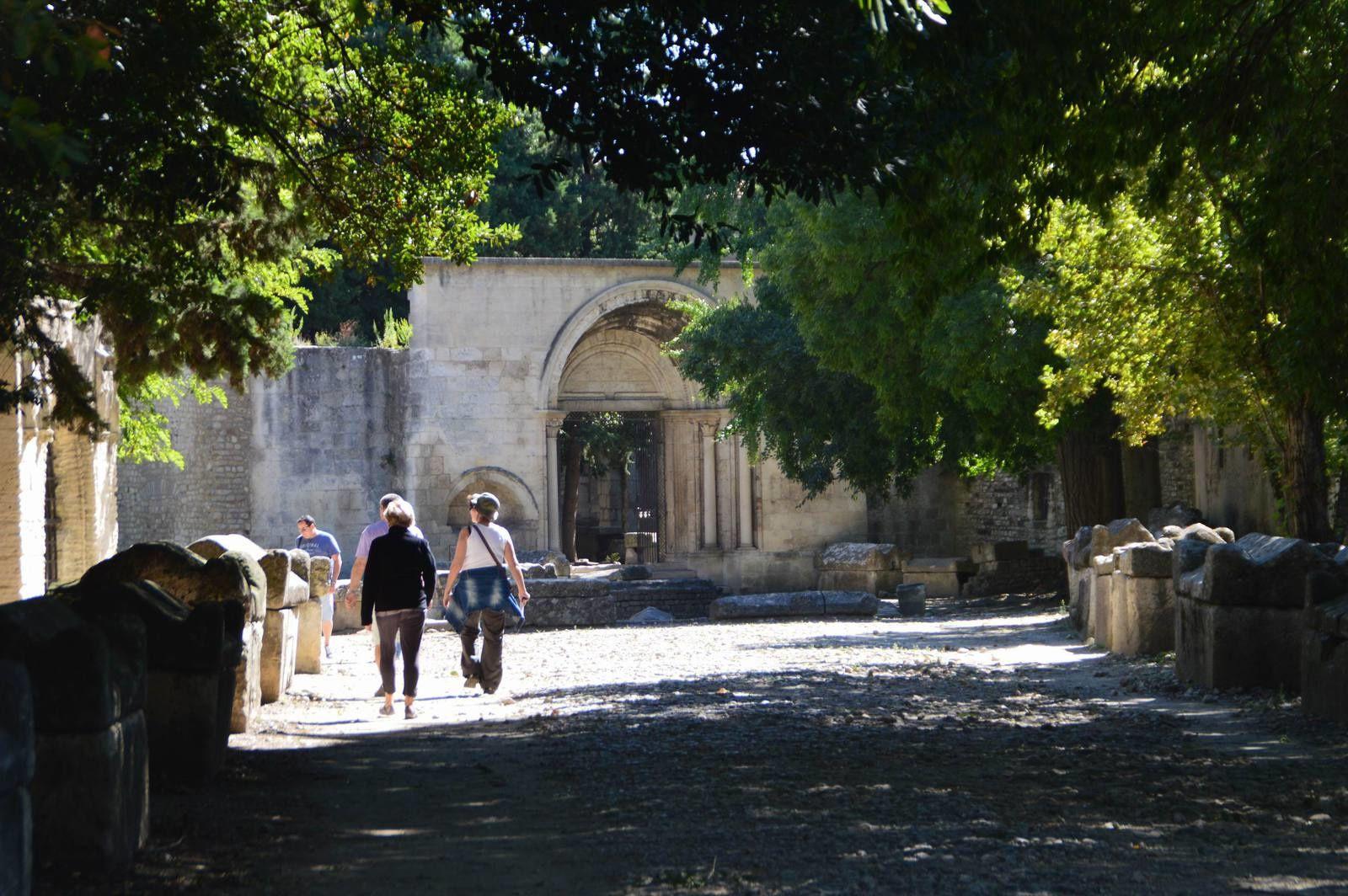 Voyage dans les Alpilles (4): Arles, les Alyscamps.