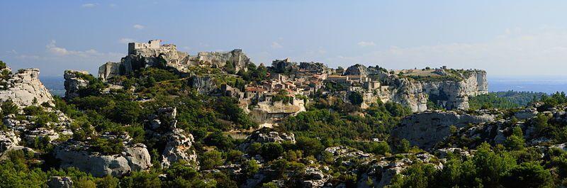 Voyage dans les Alpilles (8): Les baux de provence