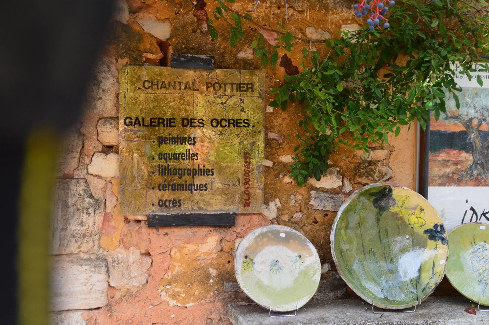 Voyage dans les Alpilles (14): Roussillon