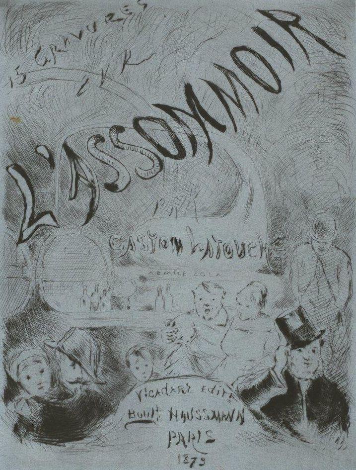 Illustrations de l'Assommoir d'Emile Zola