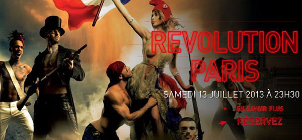 REVOLUTION PARIS - BASTILLE DAY - 13 juillet 2013