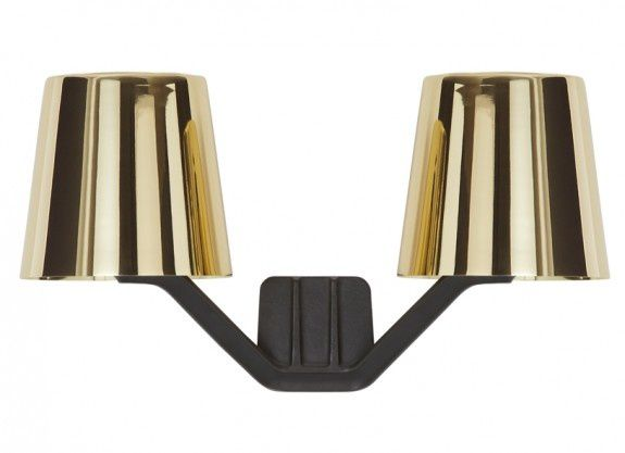 Wall Light Base Polished Brass by Tom Dixon
