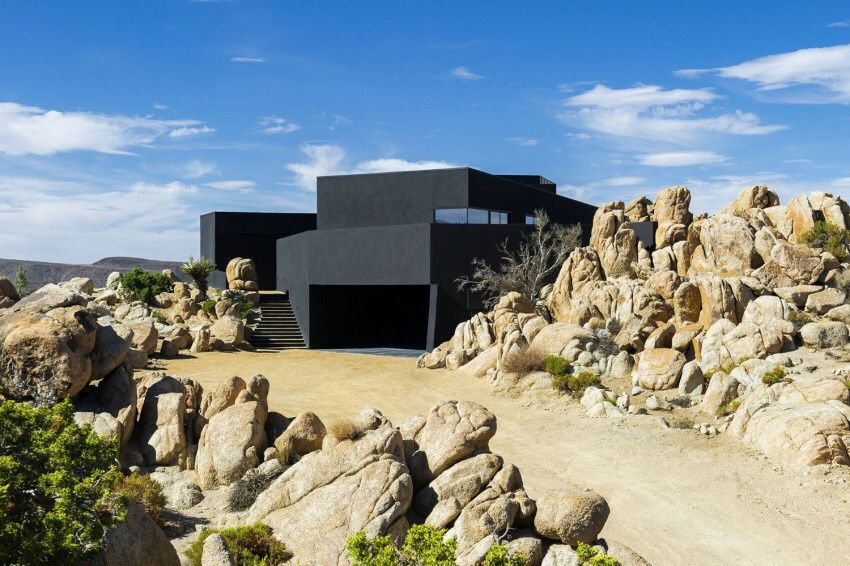 Twentynine Palms Yucca Valley House by Oller &amp&#x3B; Pejic Architecture