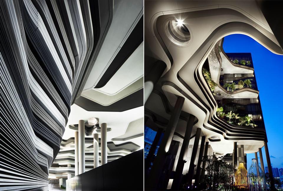 Singapore Parkroyal by WOHA Architects