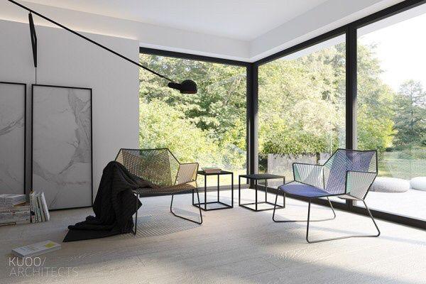 Luxembourg house by Architect Katarzyna Kuo Stolarska