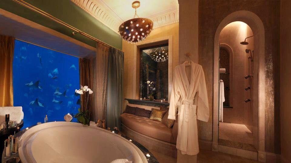 Underwater Suites: Neptune and Poseidon by Atlantis The Palm Dubai