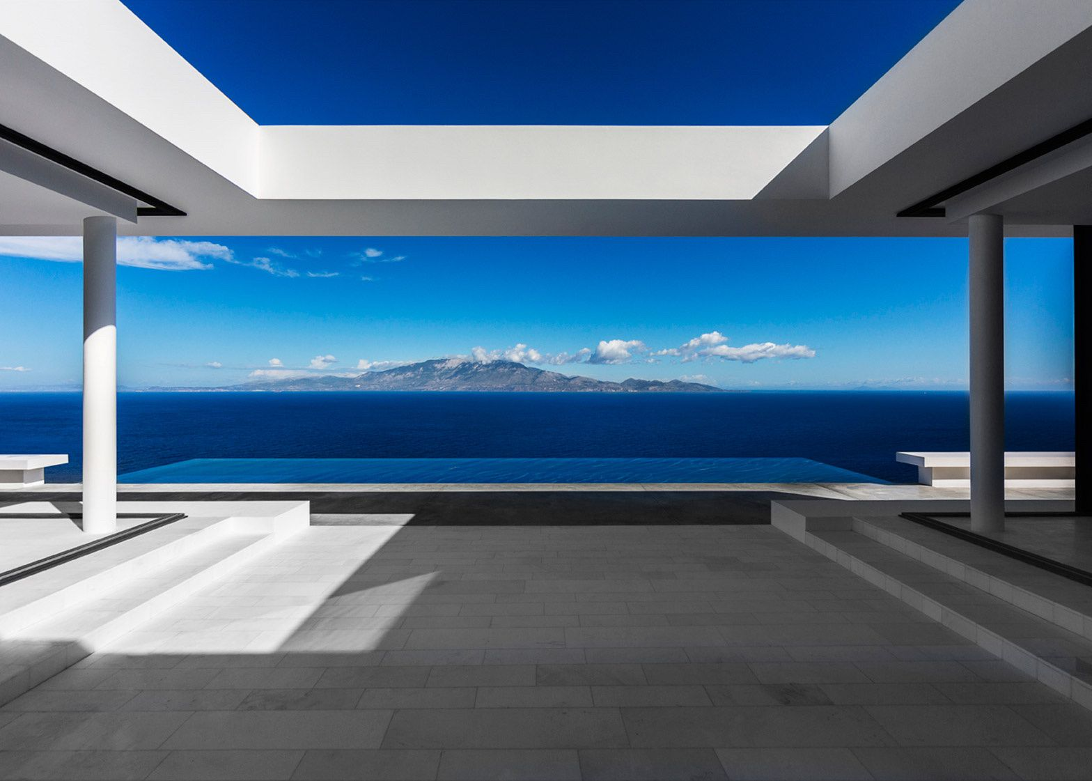 Greek Zante Island Silver House by Olivier Dwek