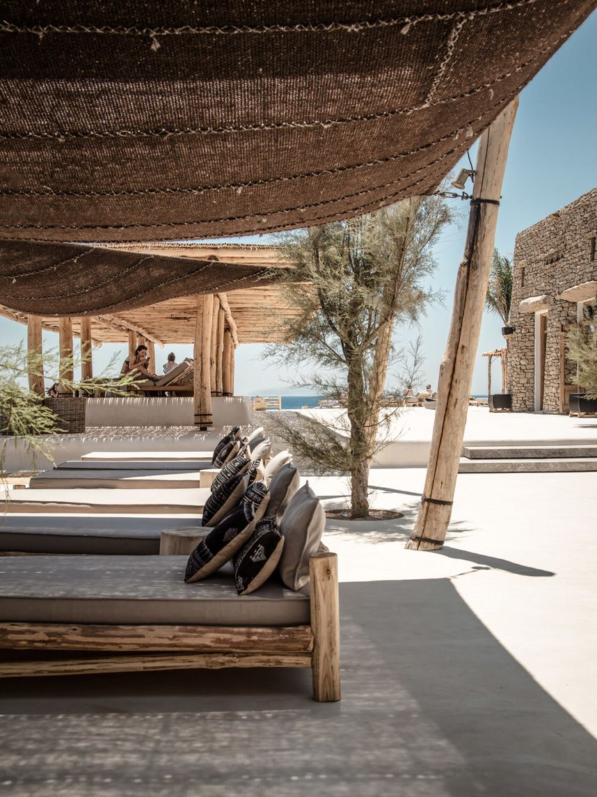 Simplicity and Luxury by Scorpios Mykonos