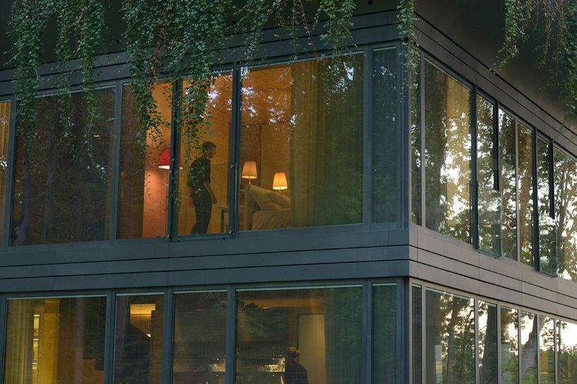 First version of P.A.T.H. prefab house realize by philippe starck + riko