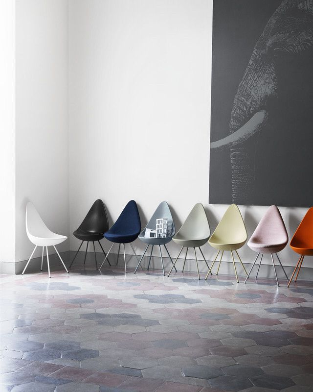 The Drop™ chair by Arne Jacobsen