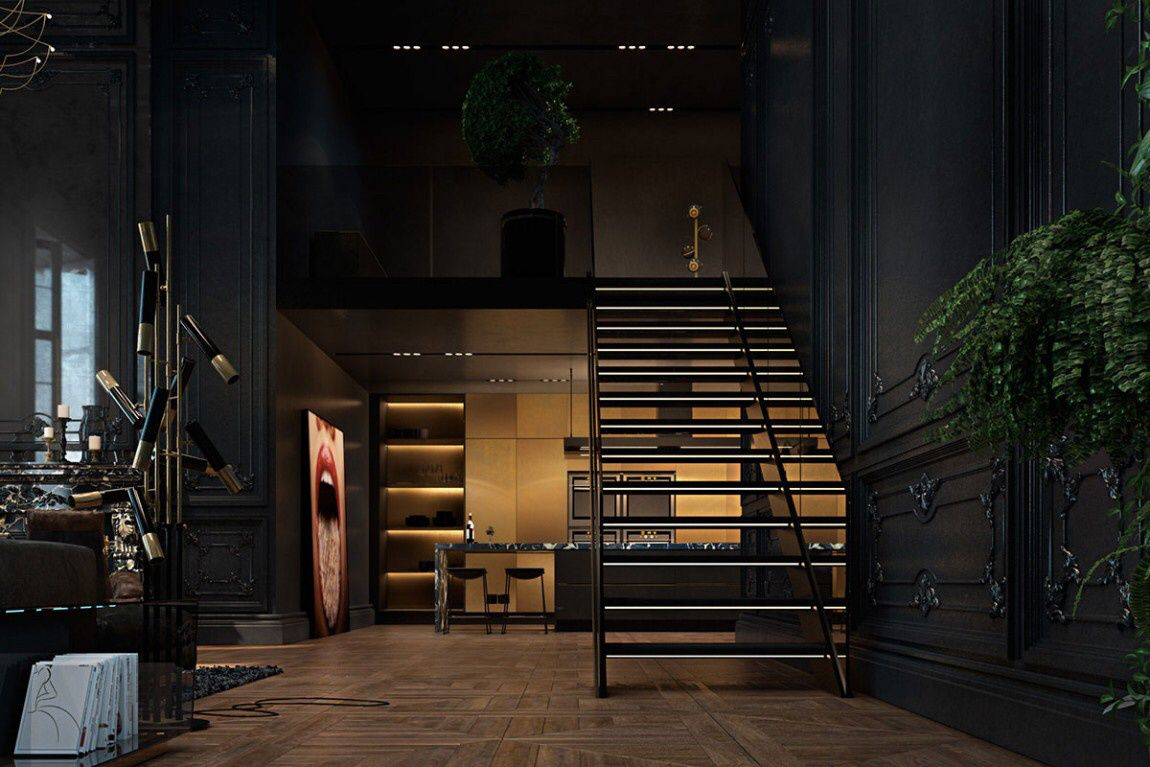 Digital Paris apartment project by Iryna Dzhemesiuk &amp&#x3B; Vitaly Yurov