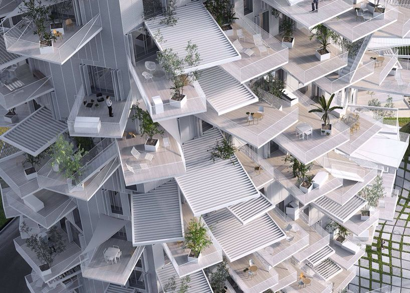 Image © sou fujimoto architects + NL*A + OXO architects / rendering by RSI-studio