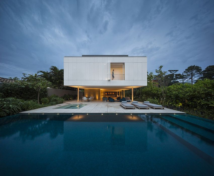 Sao Paulo, Brazil White House by Studio Mk27