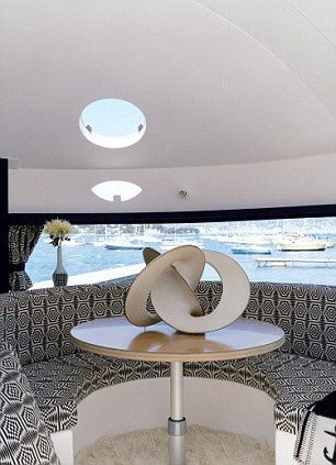 Pierre Cardin's space-age floating pod is St Tropez's coolest pad