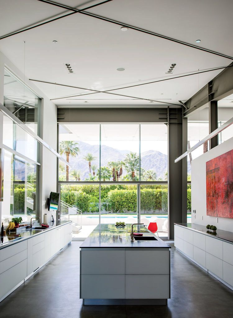 Palm Springs Desert Energy-Efficient Hybrid Prefab by Sander Architects
