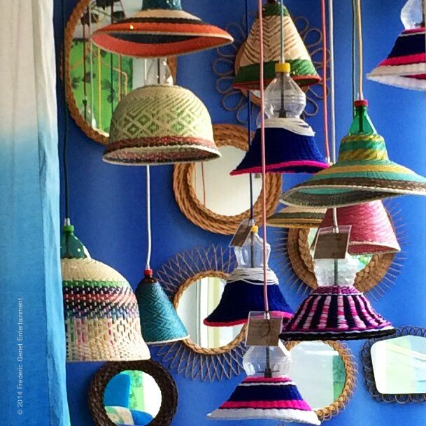 Bolivie Lamp at Designers Guild London