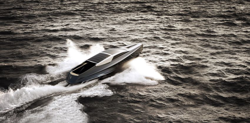 The Rolls-Royce 450EX Yacht Concept by Stefan Monro