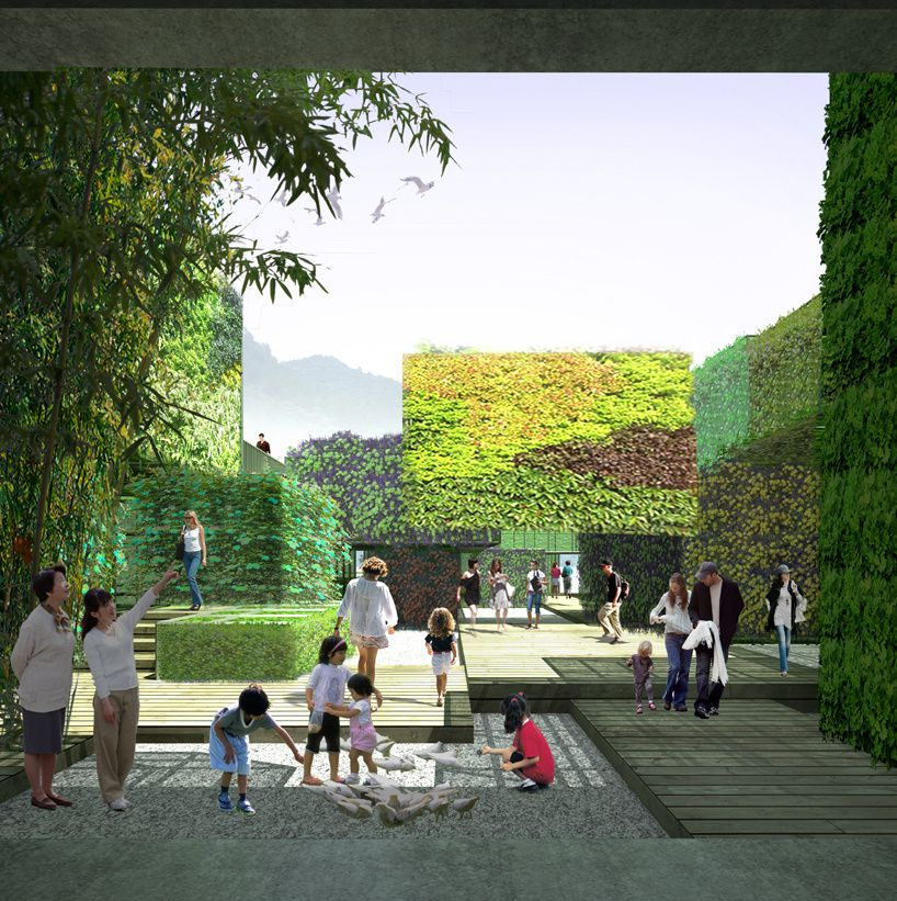 Outdoor arts space in china by Studio Pei-Zhu