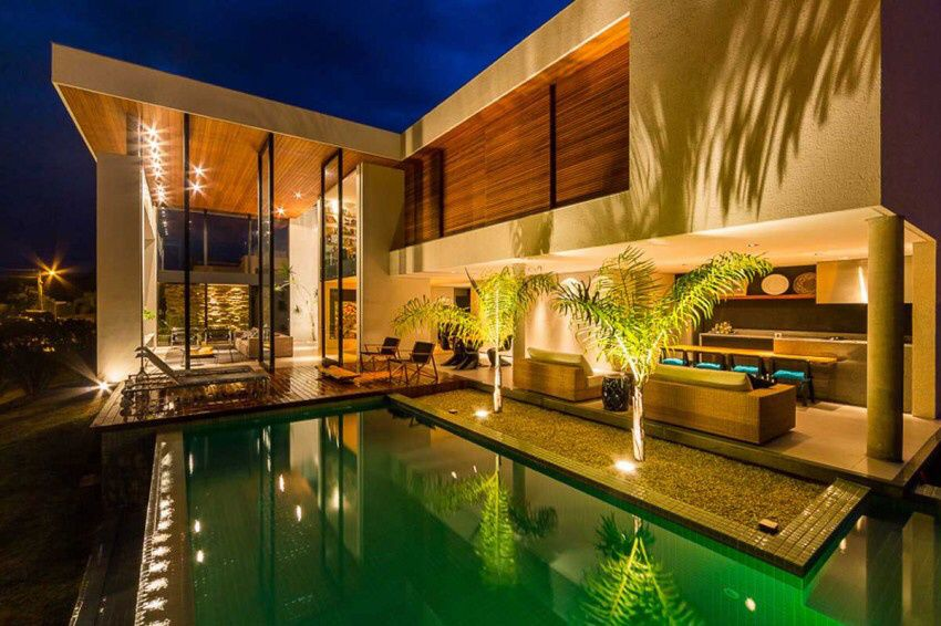 Brazil Residencia P.M. by Spagnuolo Arquitetura