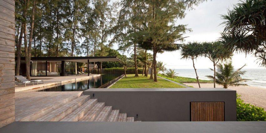 Phang Nga bay Villa Noi by Thai studio Duangrit Bunnag Architect Limited (DBALP)