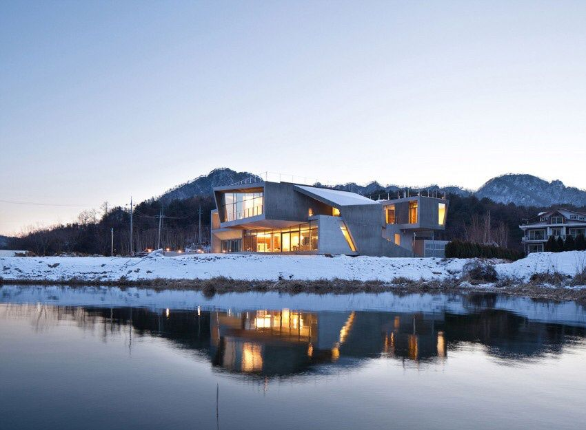 South Korea Guest House Rivendell by IDMM Architects